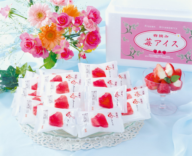 春摘み苺アイスA (18個)