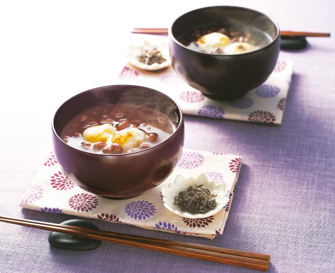 京都 都製餡 北海道小豆ぜんざいセット丸もち入