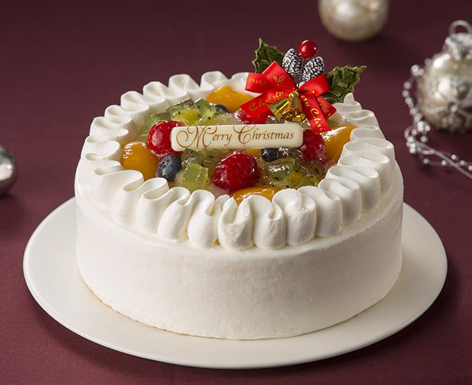 カフェラミル フルーツデコレーションケーキ